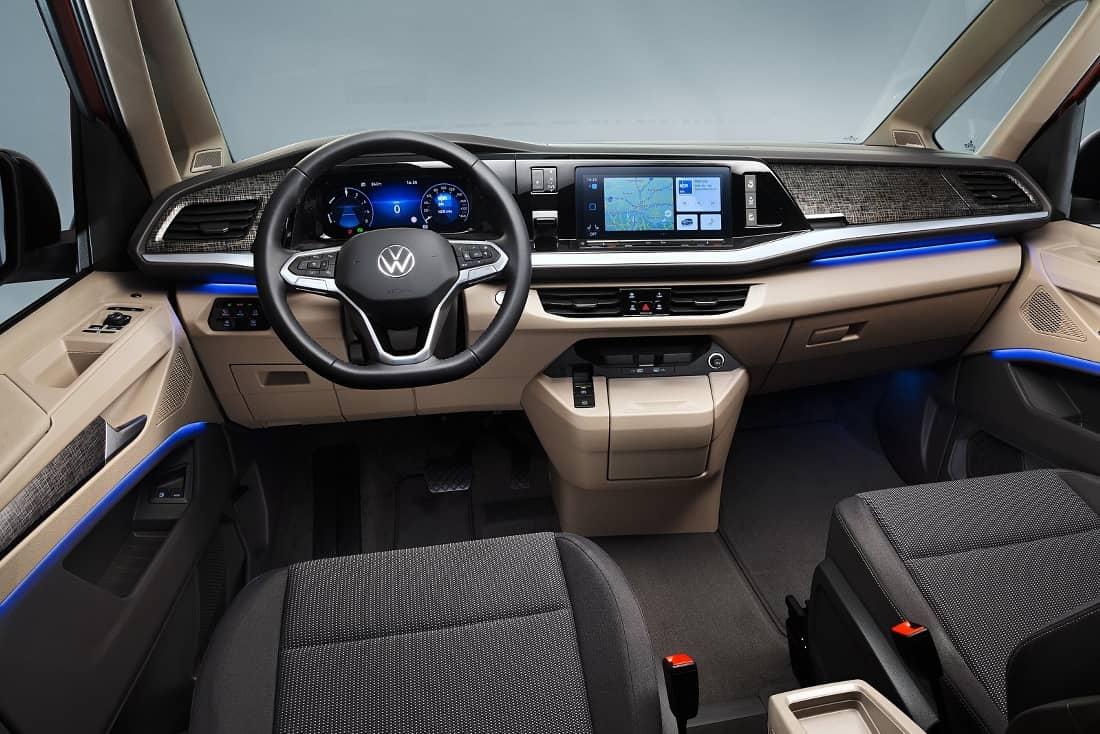 VW T7 interior