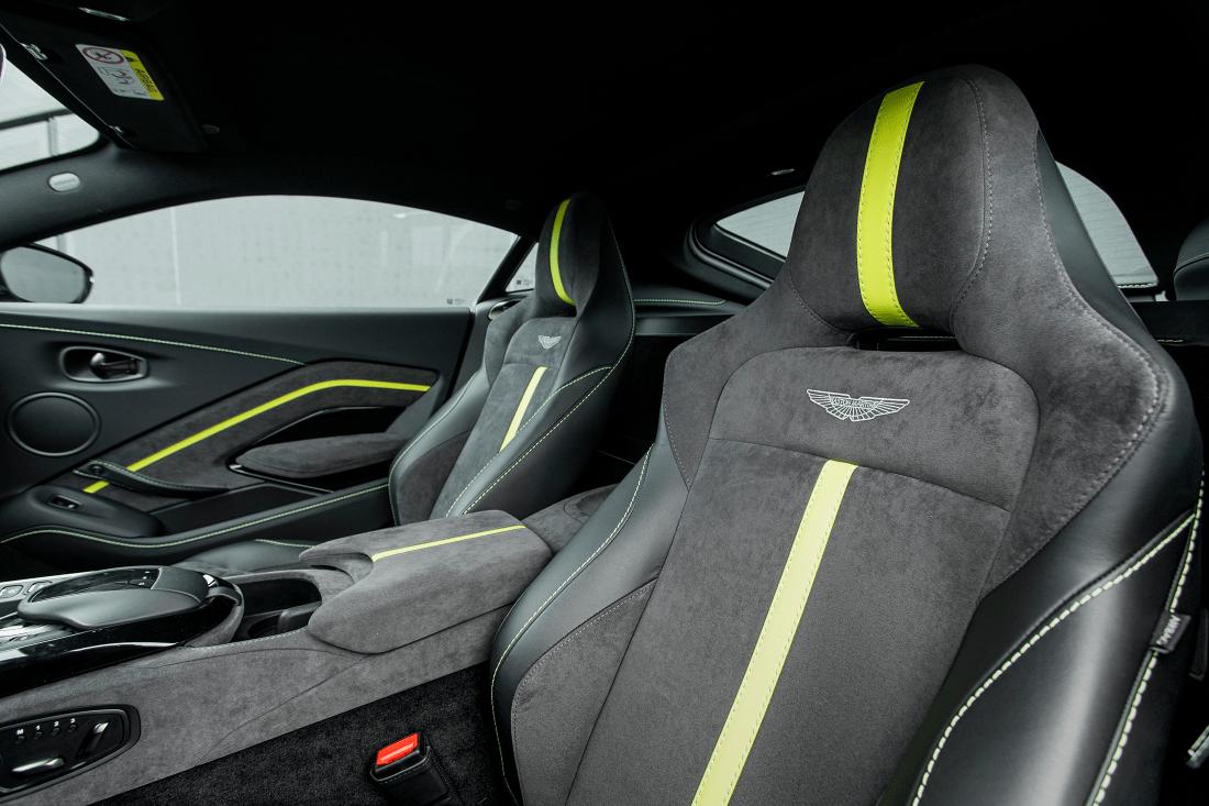 Aston Martin Vantage F1 Edition Seats