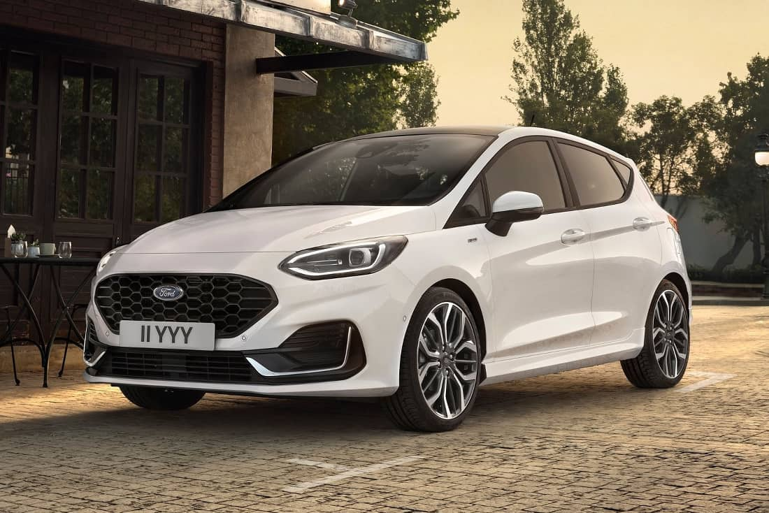 Ford Fiesta 2022 Facelift Front