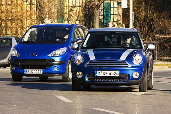 Vergleichstest Mini Clubman Vs Peugeot 1007 Autoscout24