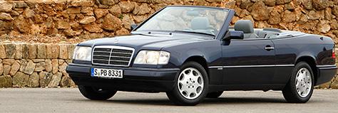 gebrauchtwagentest mercedes benz e klasse cabriolet w124 autoscout24. Black Bedroom Furniture Sets. Home Design Ideas