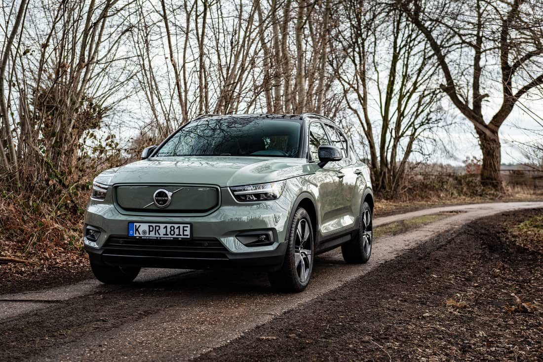 Volvo XC40 Recharge Front Side